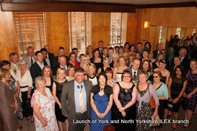 Launch of York & North Yorkshire ILEX branch